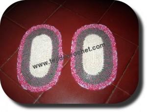 Patines tejidos a crochet