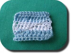 Bandera Argentina a crochet