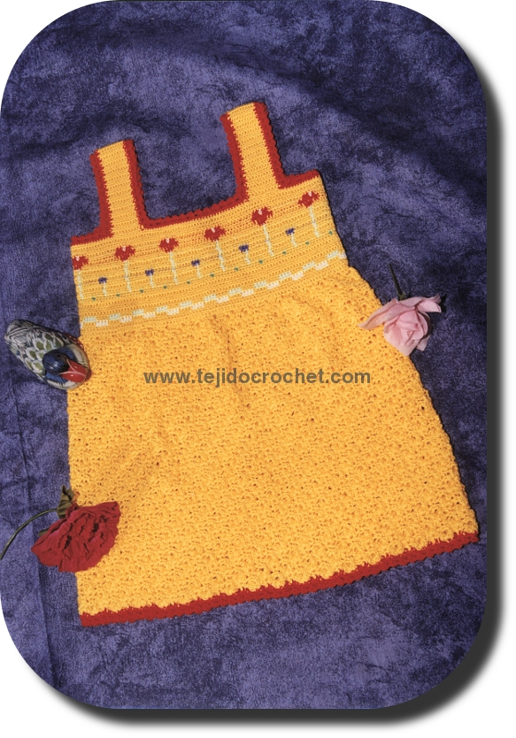 Vestidos Tejidos A Crochet Para Bautizo - Blog Template