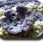 Flor de la cartuchera a crochet
