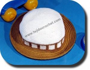 Gorro tejido a crochet