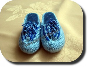 Escarpines tejido a crochet