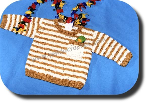 Batita bebe en tejido crochet