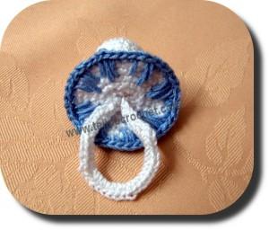 Souvenirs chupete tejido a crochet
