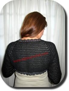 Manguitas en tejido crochet