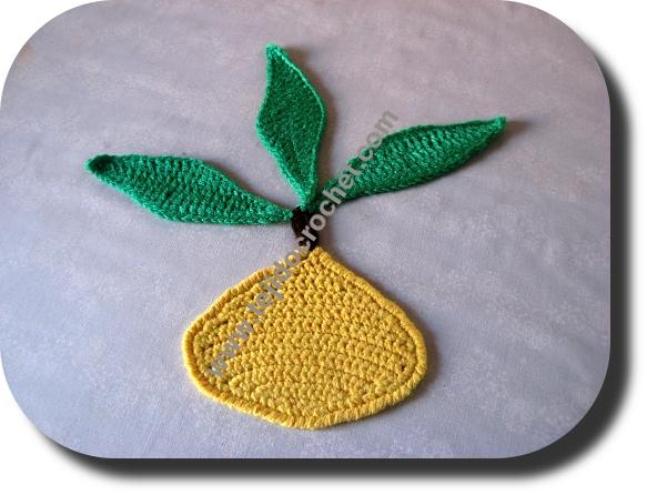 Limon en tejido crochet