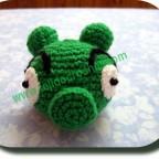 Angry Birds Cerdo Verde a crochet