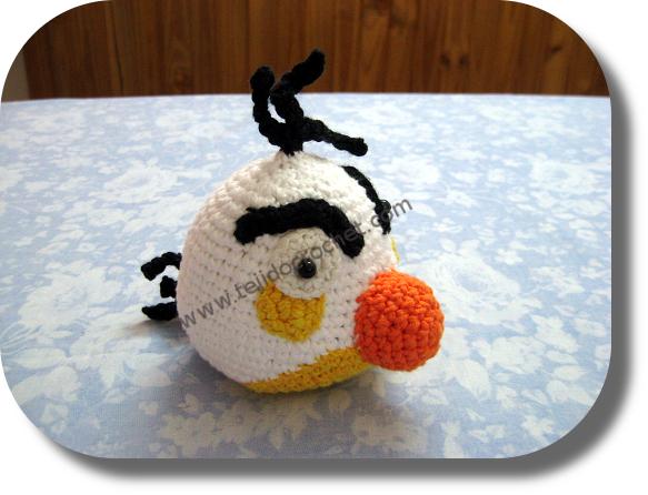Angry birs crochet