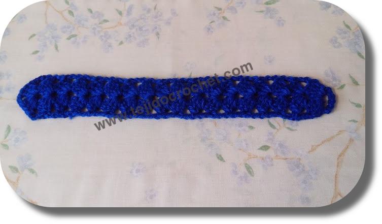 Guarda galon en tejido crochet