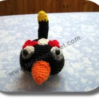 Angry birds a crochet
