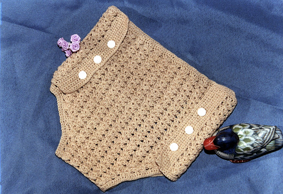 Porta Pañal crochet