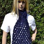 Bufanda salomon crochet