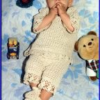 Conjunto crochet bebe