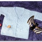Campera crochet para bebe
