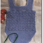 Conjunto a #crochet para bebe