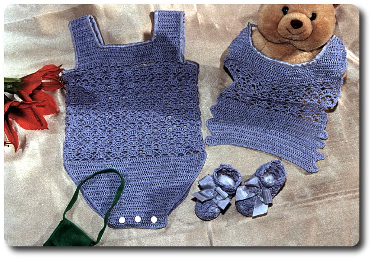 Conjunto Crochet para bebe