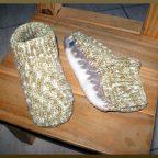 Escarpines Dormir a crochet