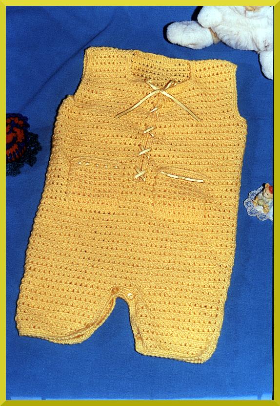 Enterito a crochet para bebe