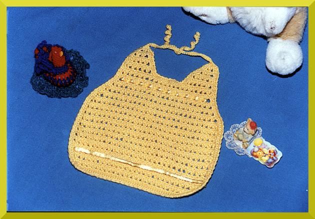 Babero a crochet
