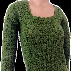 PULLOVER a Crochet